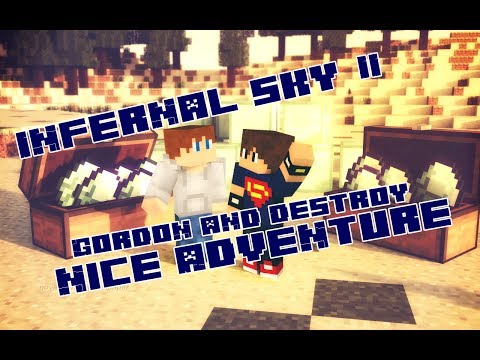 Minecraft Infernal Sky II #1 [Начало и первая шерсть]