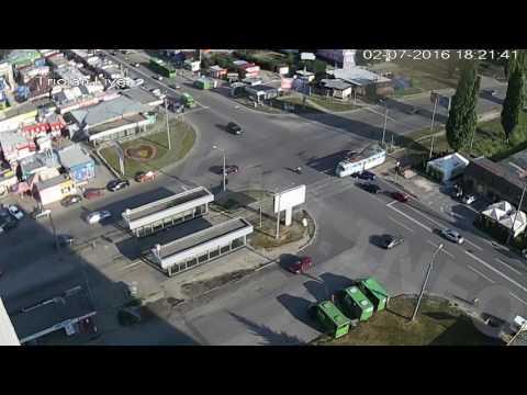 ДТП на перекрестке ул. Академика Павлова — ул. Валентиновская (02-07-2016)