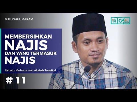 Bulughul Maram (11) : Membersihkan Najis Dan Yang Termasuk Najis - Ustadz M Abduh Tuasikal