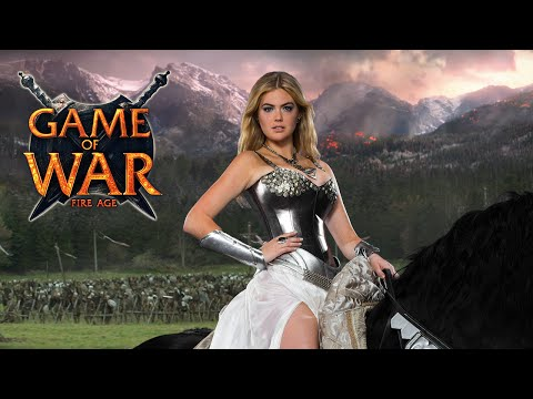Game Of War: Live Action Trailer - reputation Ft. Kate Upton video
