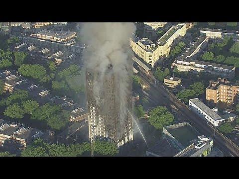 Al menos seis muertos y varias decenas de heridos en el incendio de un edificio en Londres