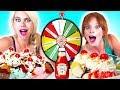 MYSTERY WHEEL of Ice Cream SUNDAE Challenge!!!