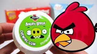 Angry Birds Fruit Gummies & Angry Birds Surprise Eggs