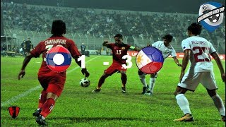 Laos 1 3 Philippines | Bangabandhu Gold Cup | All GOALS