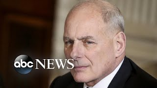 John Kelly set to leave the White House
