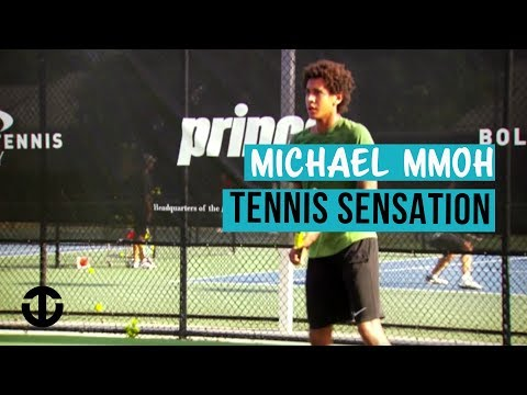 Michael Mmoh on Trans World Sport