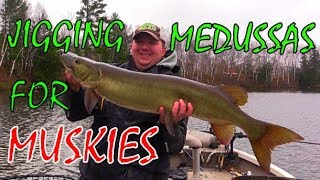 Jigging Up Northern WI Muskies with a Medussa