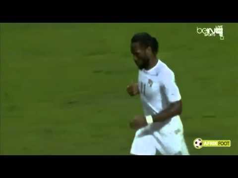 Coup franc superbe Didier Drogba | Bosnie-Herzégovine vs Côte d'Ivoire 2-1 (31/05/2014)
