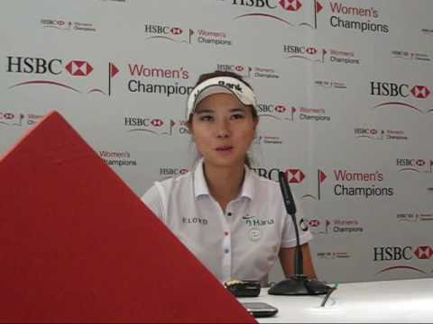 Hee Young Park  sparks back into contention with a fine showing in the 3rd round of the HWC