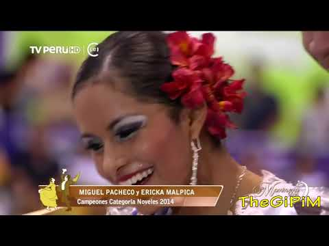 FINAL NOVELES  2014 ( HD ) - 54 CONCURSO NACIONAL DE MARINERA 2014