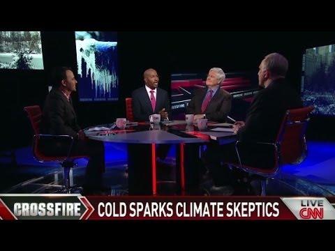 Climate cold sparks climate skeptics