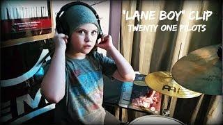 MILANA - LANE BOY [CLIP] TWENTY ONE PILOTS - 8 year old girl drummer, drum cover
