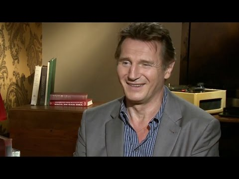 Liam Neeson Talks A Walk Among the Tombstones & Taken 3