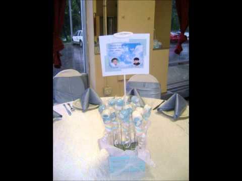 Decoracion para bautizo youtube for Decoracion bautizo