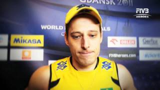 Interview with Murilo Endres at the World League Final 2011 in Gdansk