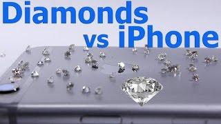 Diamond vs iPhone - Ultimate Scratch test
