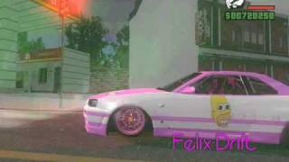 【HD】Gta San Andreas MR.SPARKLE Car Mod Fantasy Hill & More