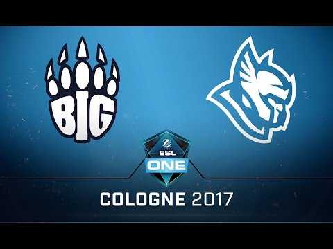 CS:GO - BIG vs. Heroic [Mirage] Map 2 - Quarterfinal - ESL One Cologne 2017 EU Qualifier