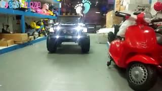 Xe ô tô điện trẻ em WXE-1688 ghế da, 4 động cơ