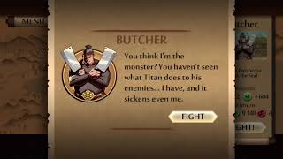 Shadow fight 2 butcher interlude