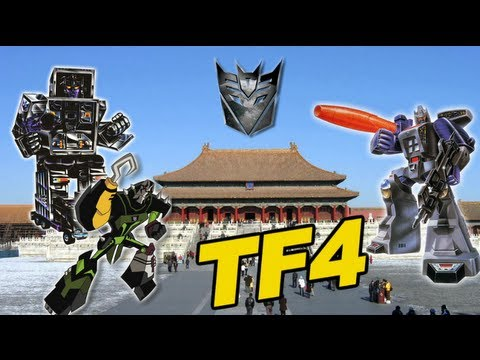 Decepticons Invade China in Transformers 4 - [TF4 Update #25]