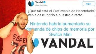 ¡VANDAL SE VA A LA MIERDA CAGÁNDOLA CON DATOS BÁSICOS! - Sasel - Bloodstained - rom - switch mini