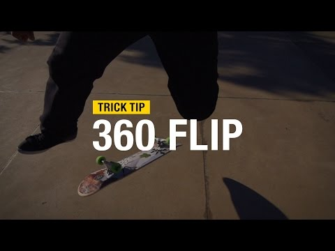 Trick Tip: How to 360 Flip with Andrew Cannon