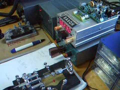 Homebrew SW40 CW Transceiver with BA6QA/QRP (FT817)