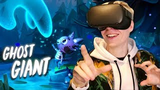 Ghost Giant On The Oculus Quest Is Truly Magical (VR Gameplay)