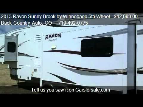 2013 Raven Sunny Brook by Winnebago 5th Wheel Self-Sustainin