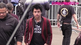 Green Day Hangs Out Backstage Before Soundcheck At Jimmy Kimmel Live! 11.21.16