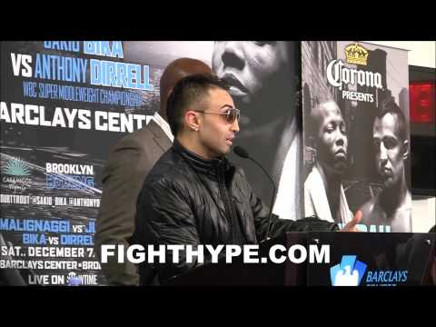 PAULIE MALIGNAGGI EXPLAINS WHY HES HAPPY TO BE AN AL HAYMON FIGHTER