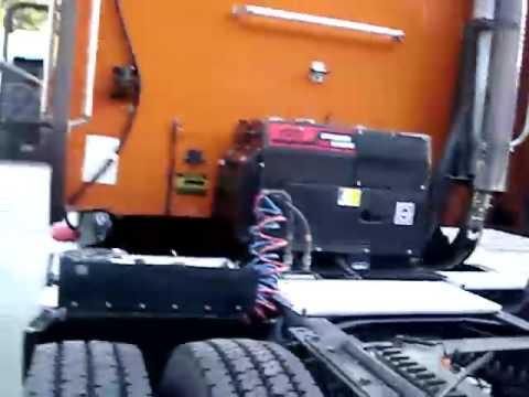 Silent Truck Diesel Generator Demo 1 - YouTube