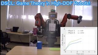 Game Theory in High-DOF Robots