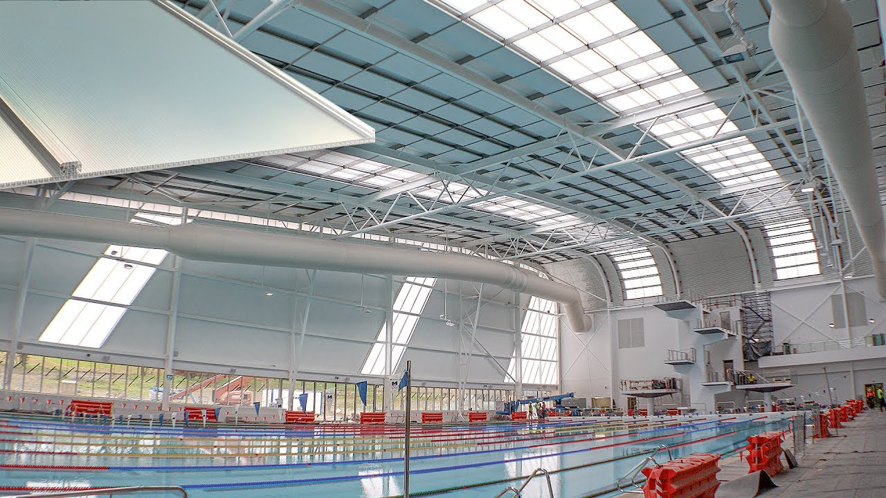 Ringwood Aquanation Center with SUNPAL Multiwall PC Panel System