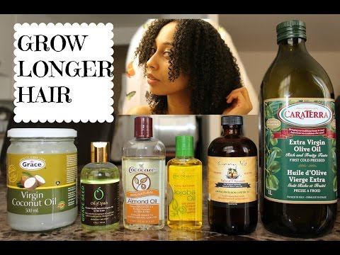 DIY Hair Growth Oil for LONGER. STRONGER Hair!