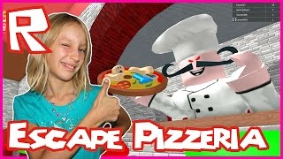 Escaping With Friends from the Pizzeria in Roblox