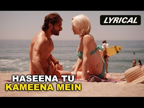 Haseena Tu Kameena Mein (Lyrical Full Song) | Happy Ending | Saif Ali Khan, Govinda & Ileana D'Cruz