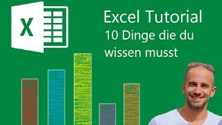 Excel - 10 Basics vor deiner Bewerbung