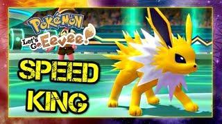 Pokemon Lets Go Pikachu and Eevee Singles Wifi Battle - Speed King