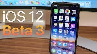 iOS 12 Dev Beta 3 / Public Beta 2 - What's New? (4K60P)