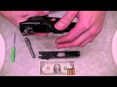 Ruger P95 Takedown Field strip and Re Assembly (Full) w/ decocker