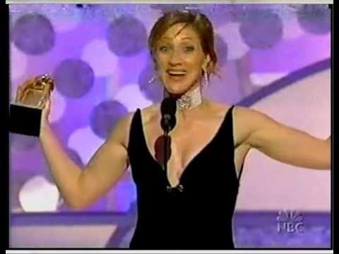 Golden Globe 2002 Edie Falco Sopranos