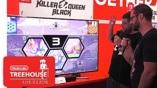 Killer Queen Black Gameplay - Nintendo Treehouse: Live | E3 2018
