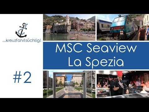 Kreuzfahrt-Vlog - Mittelmeer mit MSC Seaview - 2019 #2 La Spezia (Cinque Terre per Zug, Teppanyaki)