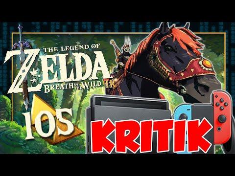 THE LEGEND OF ZELDA BREATH OF THE WILD 🌳 #105: Ganons Pferd & Nintendo Switch Kritik Realtalk