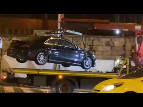 Elszállítják Gesztesi Károly autóját