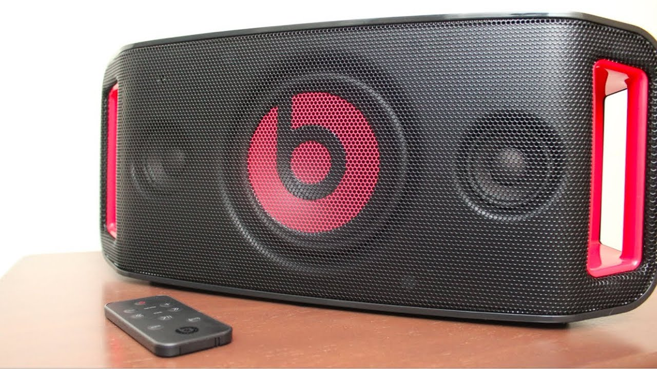 Beats By Dre Beatbox Portable Unboxing Youtube