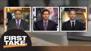 LeBron James-Michael Jordan debate over if Cavaliers beat Warriors in Finals? | First Take | ESPN