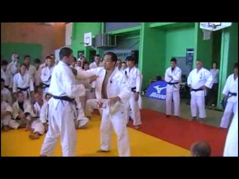 Ippon seoi nage defense and counter by Katsuhiko Kashiwazaki sensei Image 1
